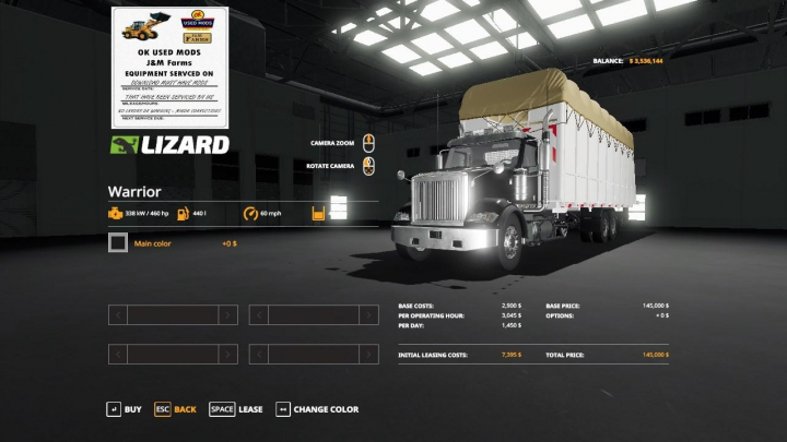 Best mods from the day: Round cotton module truck v1.0.