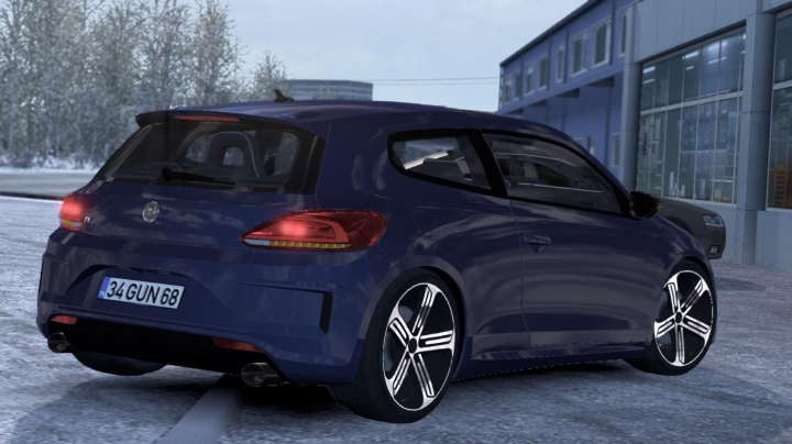 Volkswagen Scirocco R V1R40 1.38 category: cars