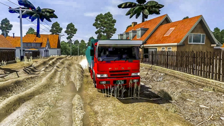 Map Sumsel by Tonny Ariyanto ETS2 1.32 to 1.38 category: Maps