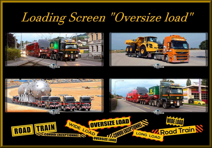 Loading Screen Oversize load v1.0 category: Other