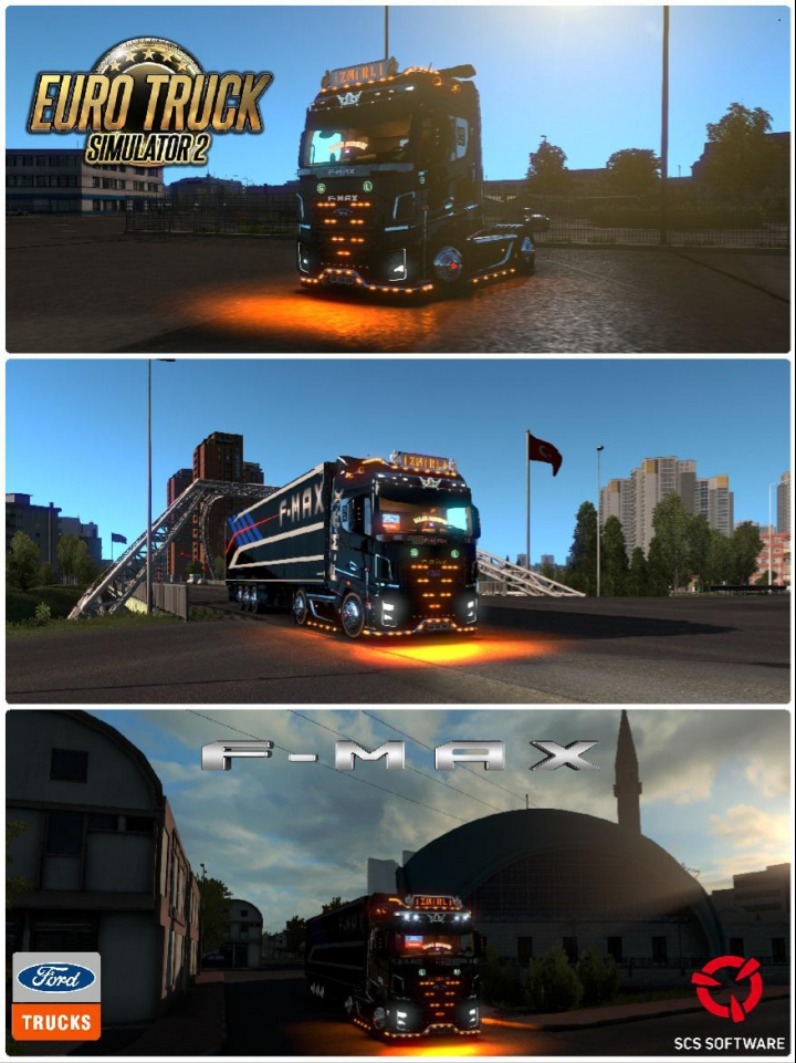 Trucks Ford F-max v3 Turkish Delight 1.38
