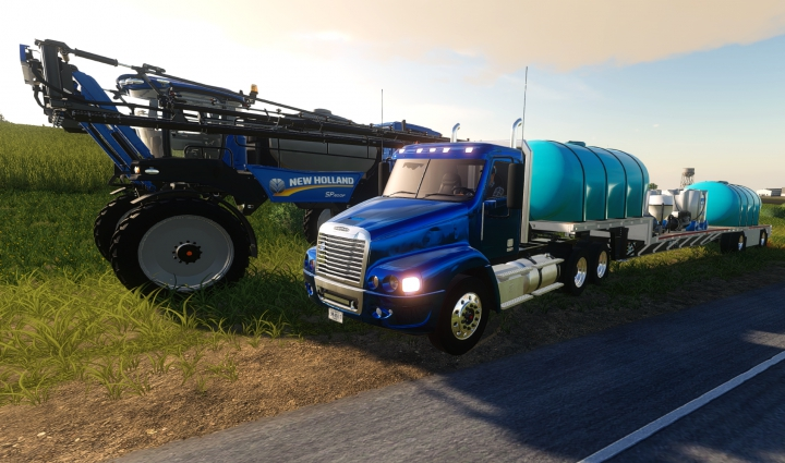 Trending mods today: Freightliner Century Day Cab V1