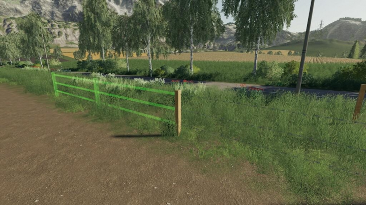 Objects Wood Fenced Pack v1.0.0.0