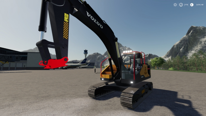Trending mods today: Volvo EC-300E FS Miners's Edition