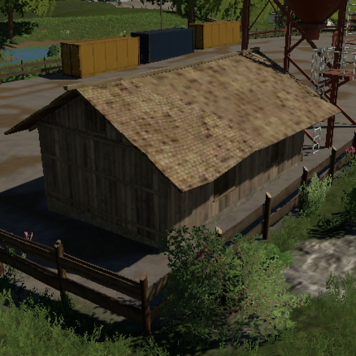 Trending mods today: Old wooden shed