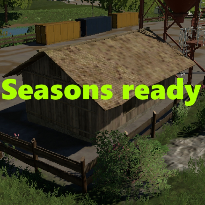 Trending mods today: Old wooden shed (Seasons ready)