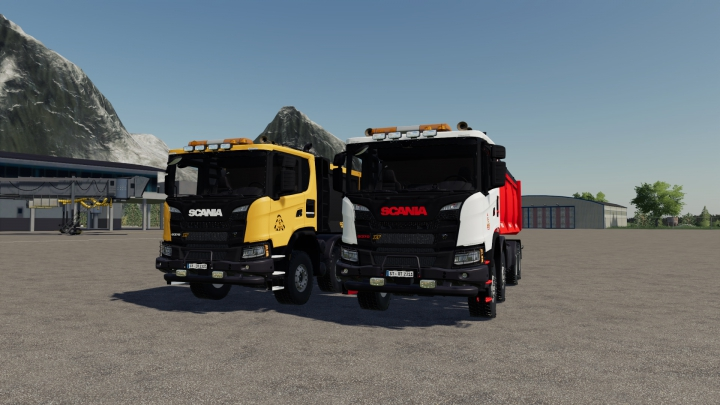 Trending mods today: Scania 8x8 Pack Fixed
