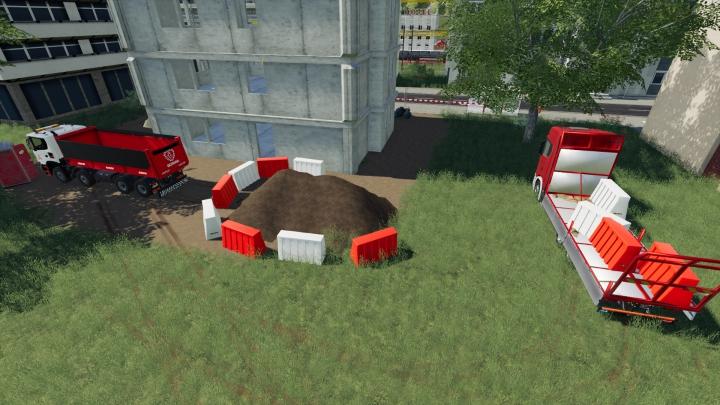 Trending mods today: Plastic Road Barrier Pack V2