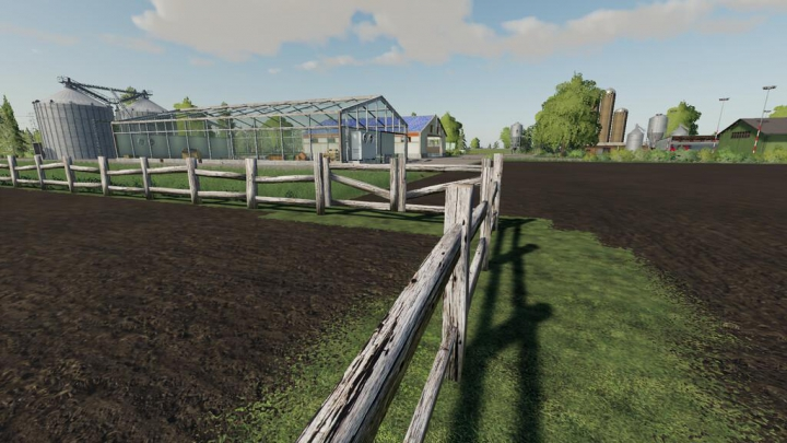 Best mods from the day: Old Fence With Gate v1.0.0.0.