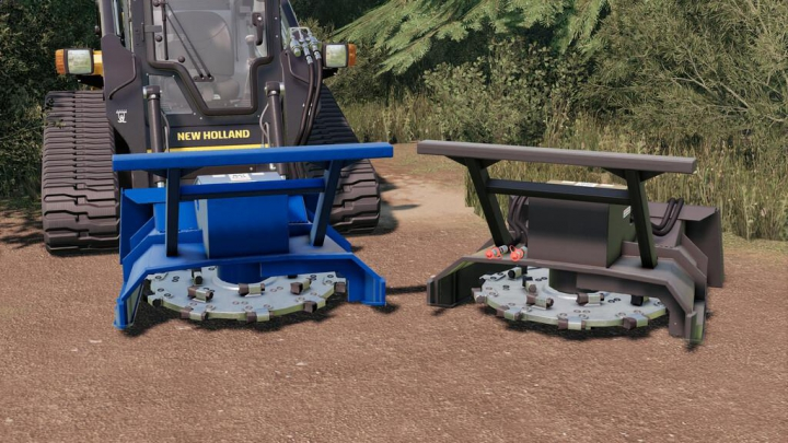 Forestry Disc Mulcher v1.0.0.0 category: Implements & Tools