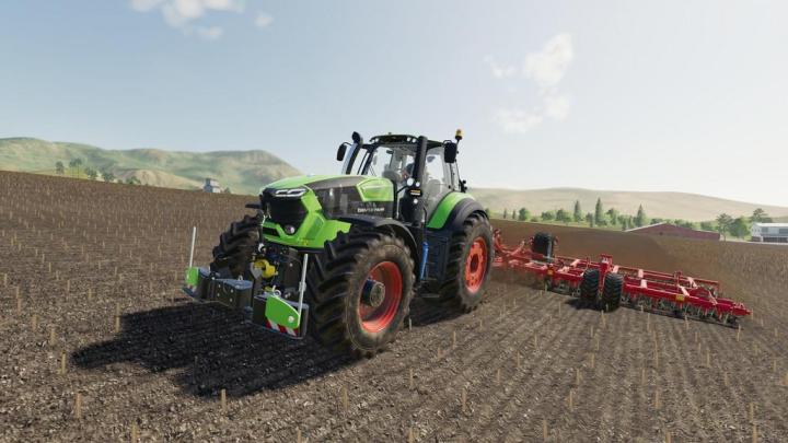Tractors Deutz-Fahr 9 Series v1.0.5.0