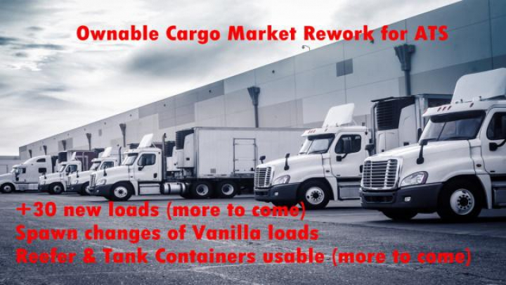 Trending mods today: OWNABLE CARGO MARKET REWORKED V1.0