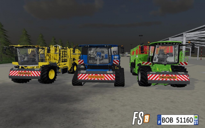 Trending mods today: FS19 Plaque Frontal By BOB51160 v1.0.0.0