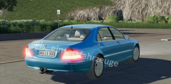 Trending mods today: Mercedes S500 civil and german police v1.0.0.0