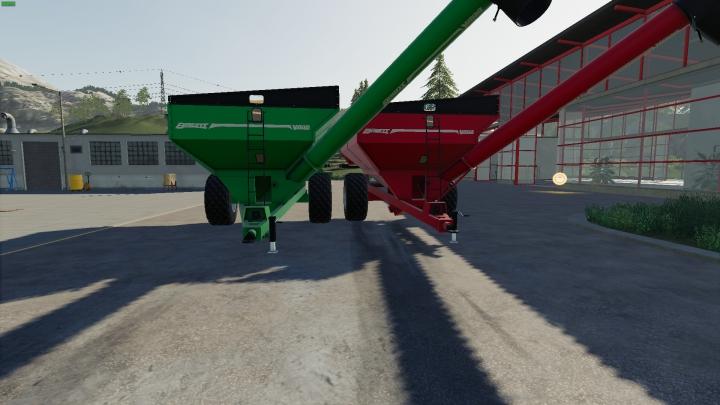 Trending mods today: Brent V800 Grain Cart