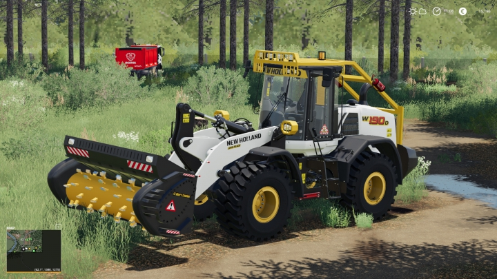 Trending mods today: New Holland W-190 Forestier