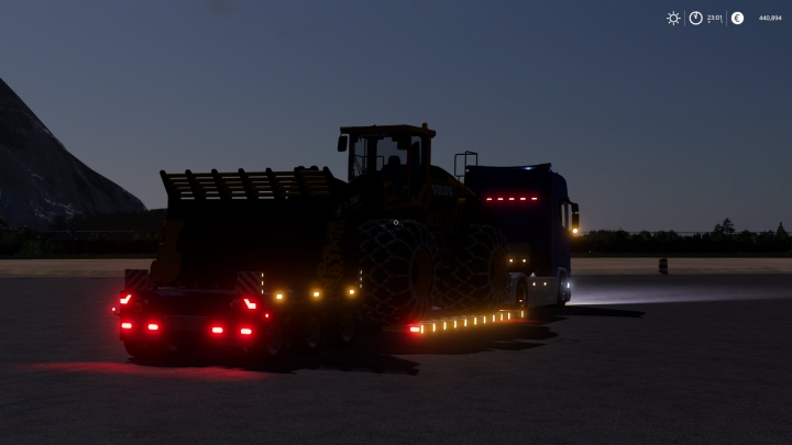 Trending mods today: Goldhofer Low Loader With Extensions
