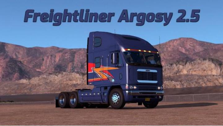 Trending mods today: Freightliner argosy