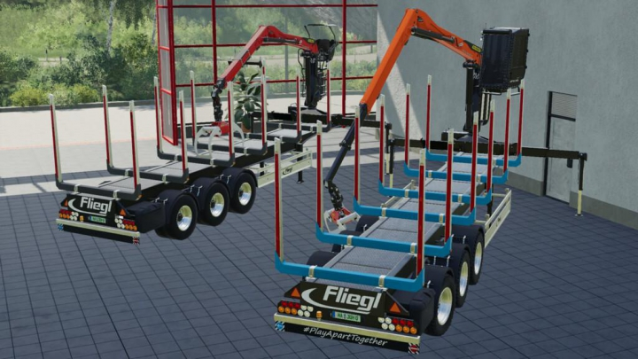 Trending mods today: Fliegl Timber-Runner Z-Crane Pack v1.0.0.0