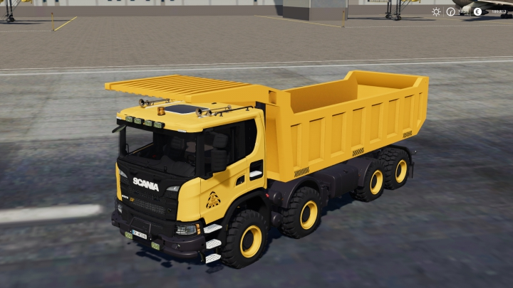 Trending mods today: Scania XT 8x8 Mining Truck