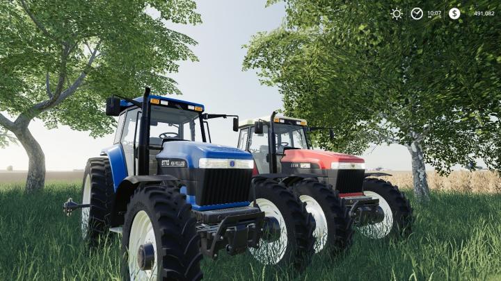 Trending mods today: Ford/New Holland/ Versatile Genesis Tractors