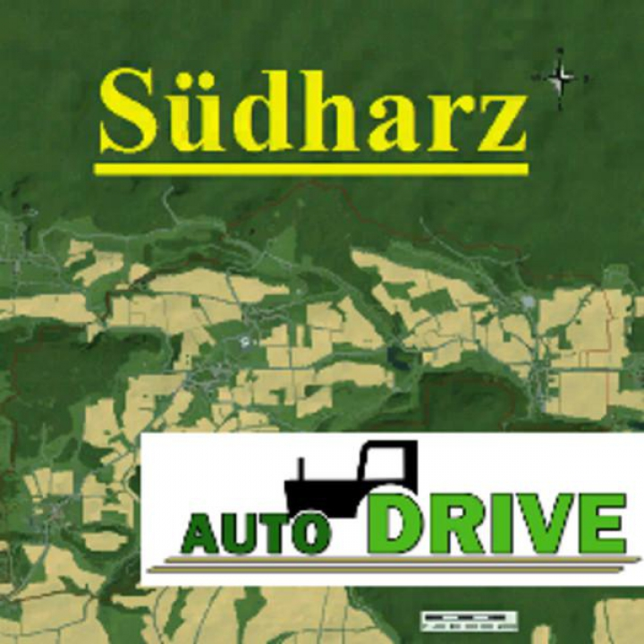 Trending mods today: Autodrive courses South Harz Map v1.0