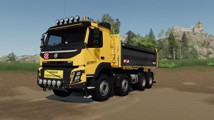 Trending mods today: Volvo FMX 8x4 FS Miner's Construction Ediiton