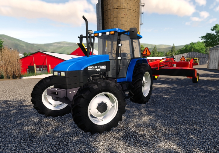 Trending mods today: Ford/New Holland TS Series US.