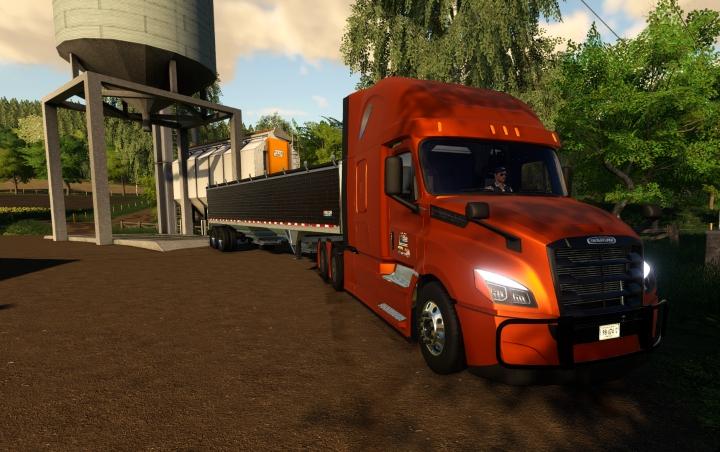 Trending mods today: Freightliner Cascadia P4 V2.01