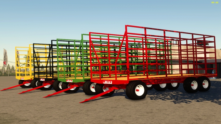 Trending mods today: Miro small sqare bale trailer