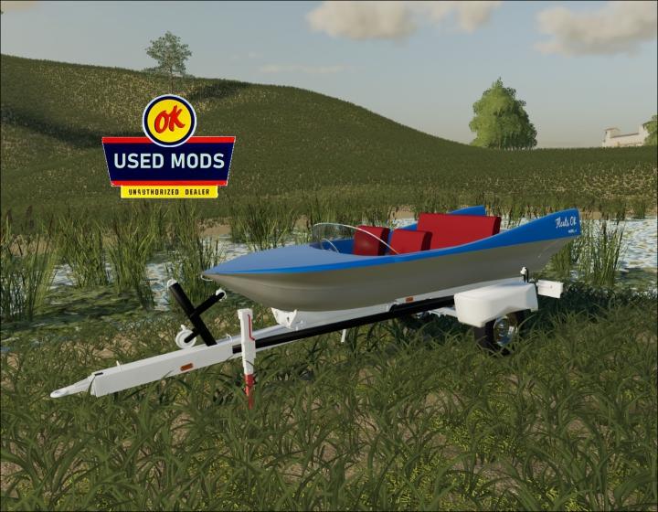 Trending mods today: Retro Boat - Liquid Transport - Floats OK Model II- By OKUSEDMODS