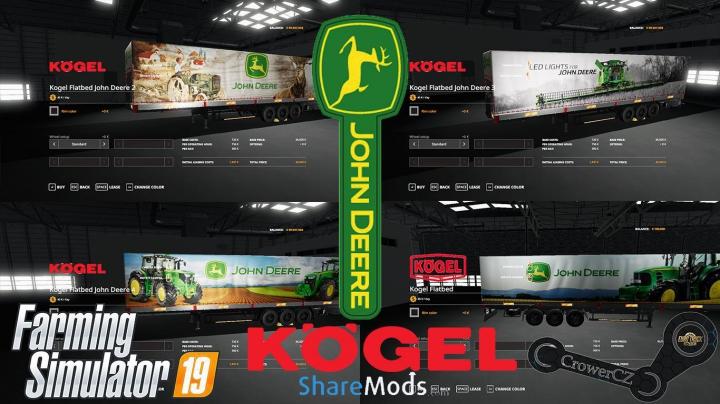 Trending mods today: JOHN DEERE KOGEL PACK TRAILERS v1.0.0.0