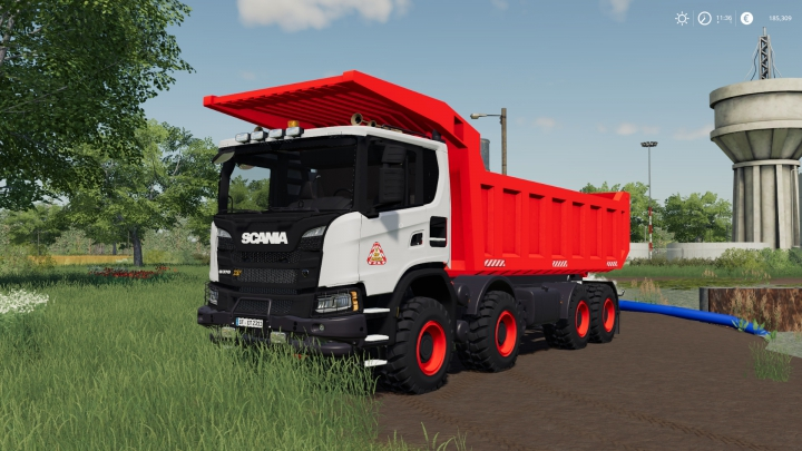 Trending mods today: Scania XT 8x8 Mining Truck