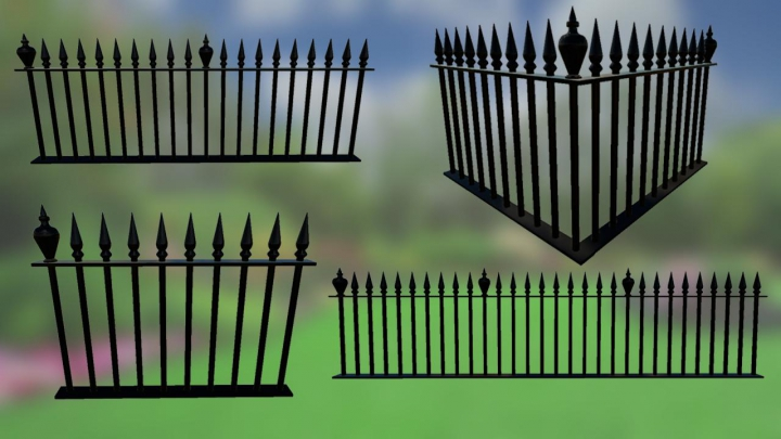 Trending mods today: Metal Fences Pack v1.0.0.0