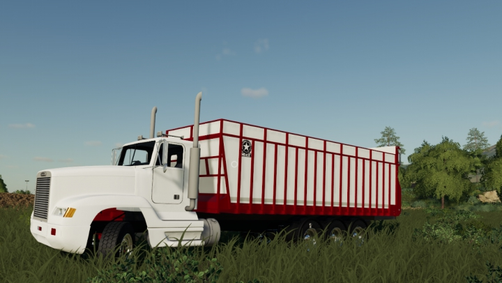 Trending mods today: Freightliner Silage Truck