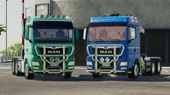 Trending mods today: MAN TGX Forest Semitrailer Pack v1.1.0.1