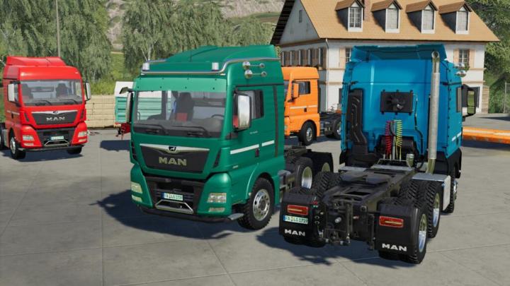 Trending mods today: MAN TGX Semi-Truck Pack v1.0.0.1