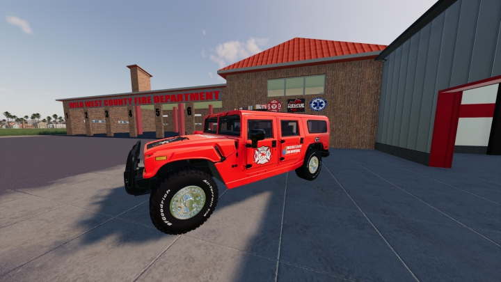 Trending mods today: Hummer H1 Wild West FD