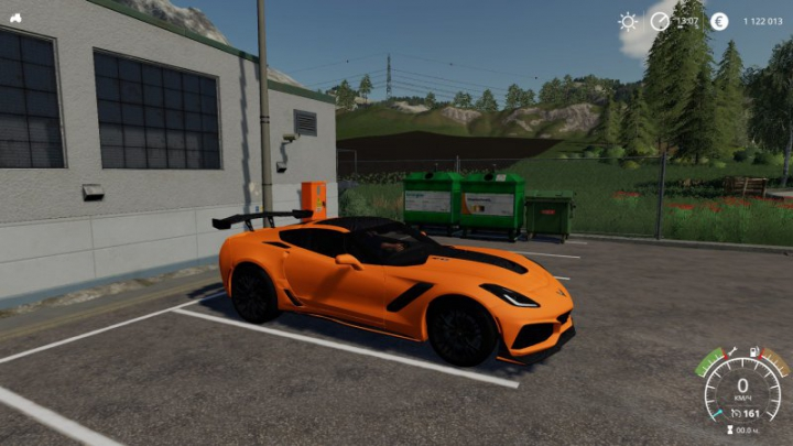 Best mods from the day: corvette zr1.