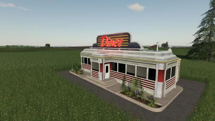 Best mods from the day: Vintage Diner v1.0.0.0.