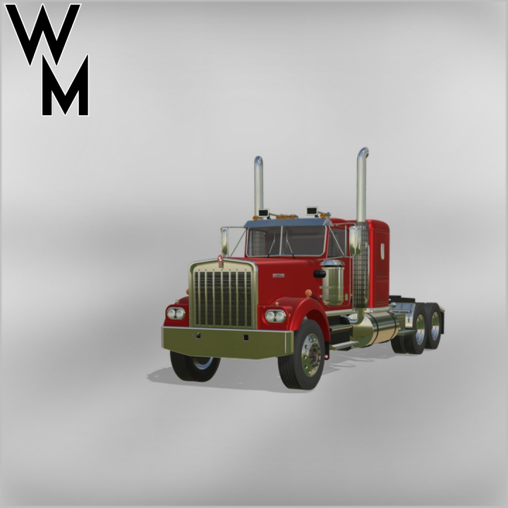 Kenworth W900a V2 category: Trucks