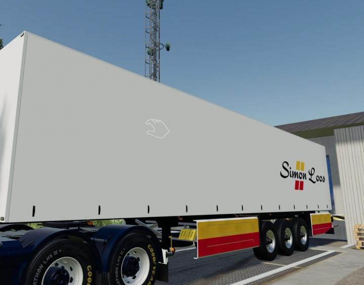Trending mods today: Schmitz Cargobull Simon Loos v1.0.0.0