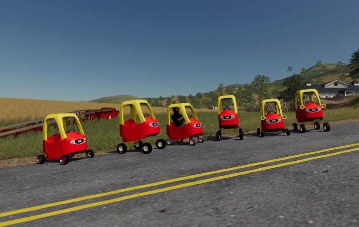 Trending mods today: fs19 little tykes kid toy car