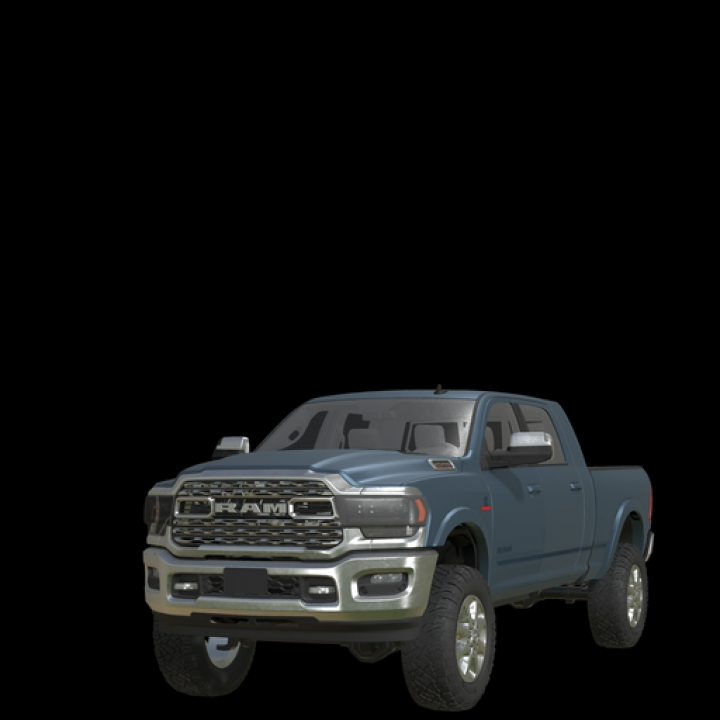 FS19 Dodge MegaCab with Interior category: Cars