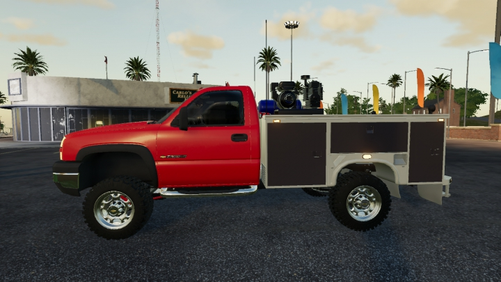 Trending mods today: Chevy Service Truck