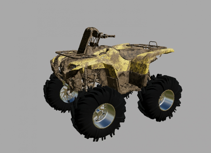 Trending mods today: Yamaha grizzly high lifter