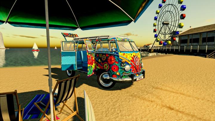 Trending mods today: Hippy Volkswagen Van