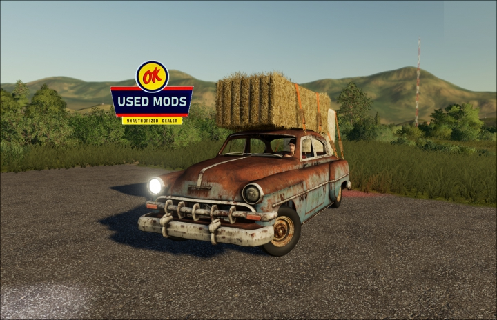 Trending mods today: 1953 Patina Princess - Drivable Rusty Car! - By OK USED MODS