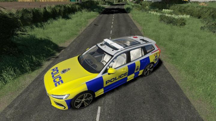 Trending mods today: Volvo V60 UK Police Edit v1.0