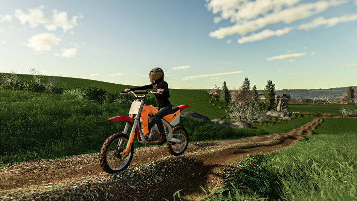 Motocross Dirt Bike category: Cars